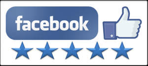 Perfect 5 Star Rating On Facebook
