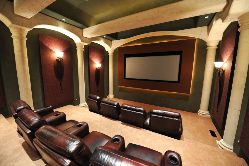 Beautiful Home Theater System by Knox
